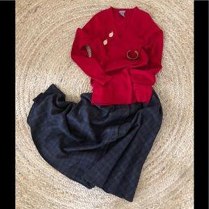 Anne Klein ll Vintage Wool Skirt